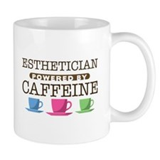 Esthetician Powered by Caffeine Mug