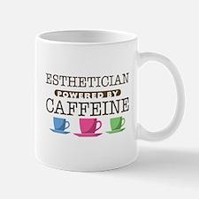 Esthetician Powered by Caffeine Mug