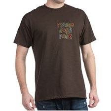 Rescue Dogs Rock Pet Dog Lover T-Shirt