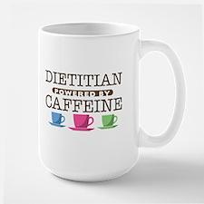 Dietitian Powered by Caffeine Mug