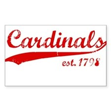 Cards est 1776 Rectangle Decal
