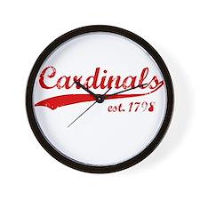 Cards est 1776 Wall Clock