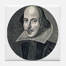 Wm Shakespeare Tile Coaster