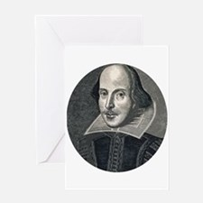 Wm Shakespeare Greeting Card