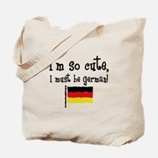 So Cute German Tote Bag