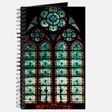 Notre Dame Stained Glass Journal