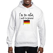 So Cute German Hoodie