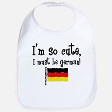 So Cute German Bib