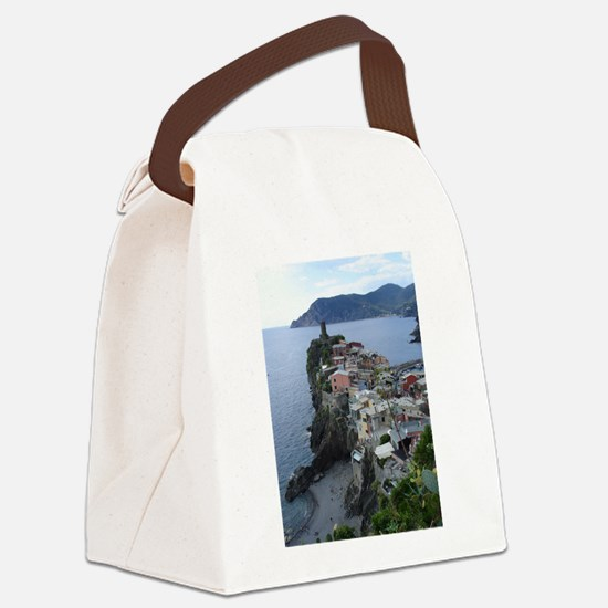 Cinque Terre Canvas Lunch Bag