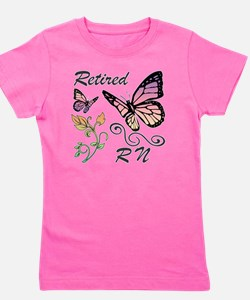 Retired Registered Nurse (RN) Girl's Tee