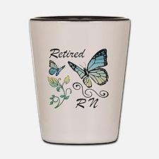 Retired Registered Nurse (RN) Shot Glass