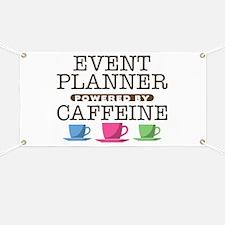 Event Planner Powered by Caffeine Banner