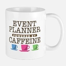 Event Planner Powered by Caffeine Small Small Mug