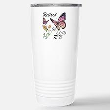 Retired Registered Nurs Travel Mug