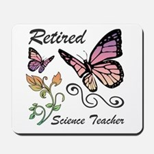 Retired Science Teacher Mousepad