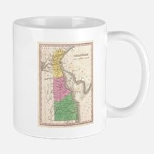 Vintage Map of Delaware (1827) Mugs