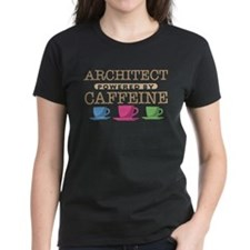 Architect Powered by Caffeine Tee