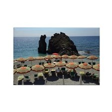 Monterosso Beach Rectangle Magnet