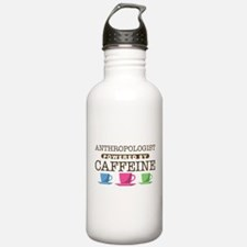 Anthropologist Powered by Caffeine Water Bottle