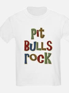 Pit Bulls Rock Dog Lover T-Shirt