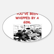whipped Sticker (Oval)