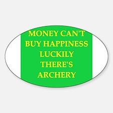 archer Sticker (Oval)