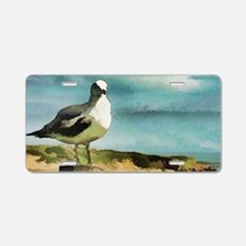Seagull Sentry Aluminum License Plate