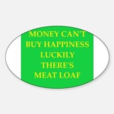 meat loaf Decal