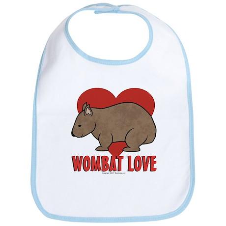 Wombat Love Bib