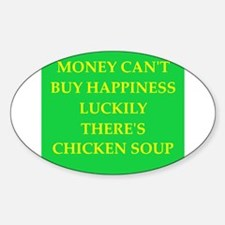 chicken soup Decal