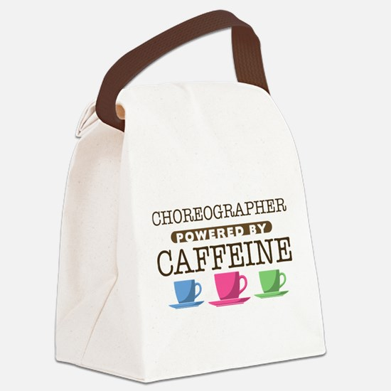 Choreographer Powered by Caffeine Canvas Lunch Bag