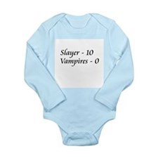 Funny Buffy Long Sleeve Infant Bodysuit