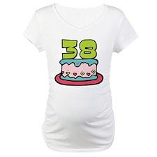 38 Year Old Birthday Cake Shirt