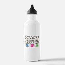 Coroner Powered by Caffeine Water Bottle