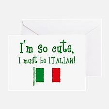 So Cute Italian Greeting Card