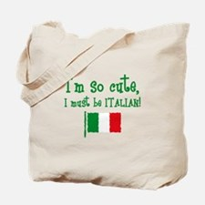 So Cute Italian Tote Bag