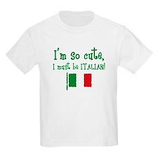 So Cute Italian T-Shirt