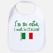 So Cute Italian Bib
