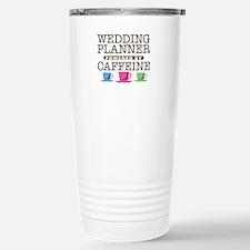 Wedding Planner Powered by Caffeine Ceramic Travel