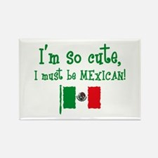 So Cute Mexican Rectangle Magnet
