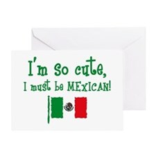 So Cute Mexican Greeting Card