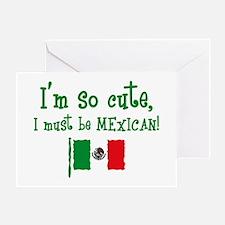 So Cute Mexican Greeting Card