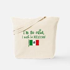 So Cute Mexican Tote Bag
