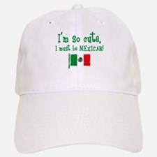 So Cute Mexican Baseball Baseball Cap