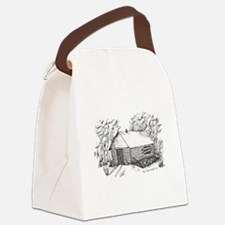 —Home, beautiful home! Canvas Lunch Bag
