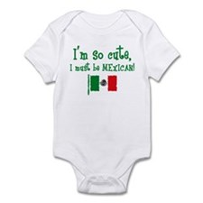 So Cute Mexican Infant Bodysuit