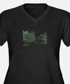 GREEN THE TREES ARE Plus Size T-Shirt