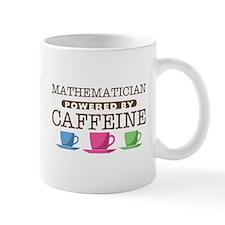 Mathematician Powered by Caffeine Small Mugs