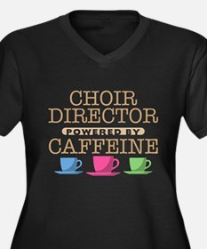 Choir Director Powered by Caffeine Women's Dark Pl