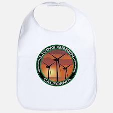Living Green California Wind Power Bib